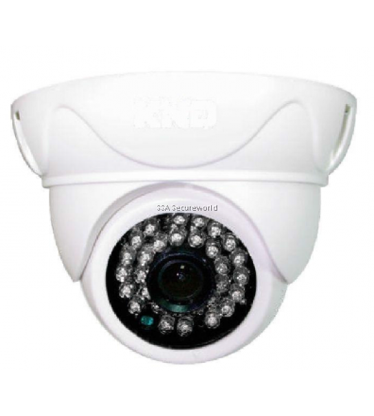 HD-AHD High Resolution Half Round IR Dome Camera