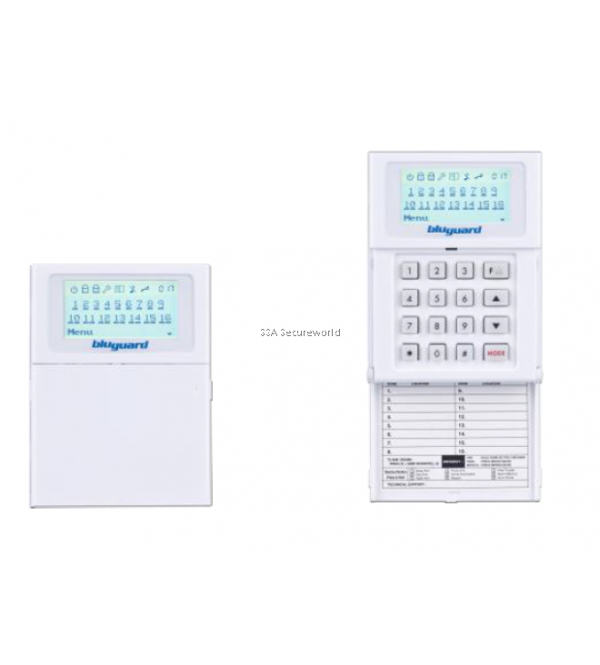 BluGuard V16N Alarm System  9 Zone (extended to 16 Zone)