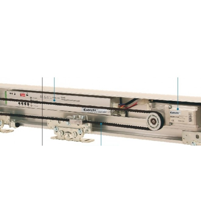 Caterly automatic sliding door set