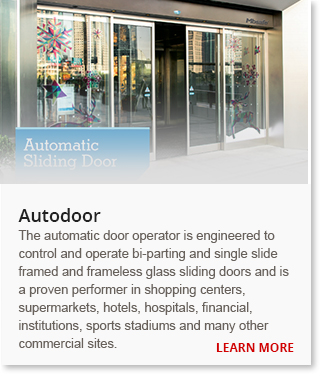 Supply and install automatic sliding door in malaysia